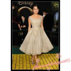Mila Kunis white lace dress 'Oz The Great and Powerful' LA Premiere $119.99 each at Celebsbuy.net