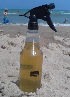 Un nuovo modo di usare il Tè verde: In spiaggia da spruzzare su viso e corpo