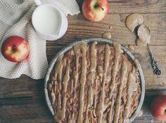 Petite Kitchen's Vegan Apple Cake Recipe - Viva