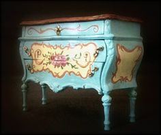 Gorgeous Miniature Dollhouse Commode by June Clinkscales | eBay