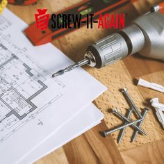 One and only stripped screw hole repair kit! Fix stripped screw holes in all types of wood less than a minute with the Screw-It-Again wood anchor. Halloween Projects, Fall Halloween, Stripped Screw, Wood Anchor, Screw It, Wood Screws, Woodworking Tips, Types Of Wood, Anchors
