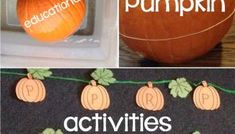 How to Dye Pumpkin Seeds & Dyed Pumpkin Seeds Activities - Lessons for Little Ones by Tina O'Block Pumpkin Seed Activities, Pumpkin Games, Pumpkin Books, Pumpkin Farm, Pumpkin Carving, Carving Pumpkins, Museum Education, Elementary Education, Childhood Education