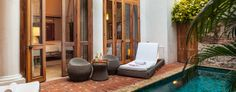 Hotel Casa San Agustin: Spanning three mansions, Casa San Agustin is a standout boutique in the heart of Cartagena, Columbia.