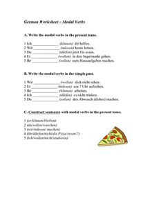 This Worksheet Offers Students Practice Forming The