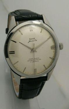 HMT Janata Mechanical 17 Jewels Men s wristwatch Vintage Collectible
