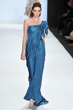ac60660ed054 Project Runway 2009 - Carol Project Runway, Formal Evening Dresses, Blue  Dresses, Pretty