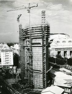 Grattacielo Pirelli in costruzione