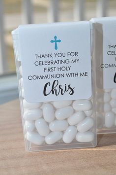 Baptism Party Favors, Tic Tac Labels Mint Favors, Mint Favors, Cross Girls Baptism, Personalized Party Favors - Set of 24 Labels Communion Party Favors, Baptism Party Favors, Communion Decorations, Holy Communion Cakes, First Communion Party, Communion Invitations, Personalized Party Favors, First Holy Communion, Shower Favors