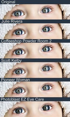 5 Ways to Make Eyes Pop in Photoshop Elements...making the eyes pop is my favoritee:)