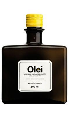 Aceites Olei, aceite de oliva virgen extra con sabor a tradición gallegaOlei es un aceite de oliva virgen extra procedente de olivos centenarios con un diseño exclusivo e innovador reflejo de su calidad y personalidad. Botella de 500ml.✓