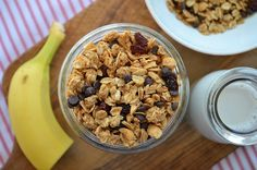 Peanut Butter-Chocolate Granola-Three Many Cooks