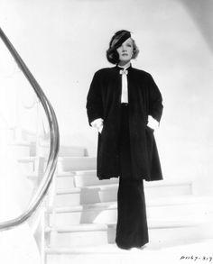 Marlene Dietrich, 1930s.