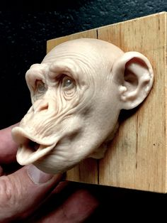 Monkey/super sculpy/ 2,5 inches/@radziewiczsculptor