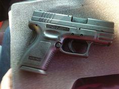 Springfield XD-9mm subcompact  My very first gun!! 5 year anniversary present