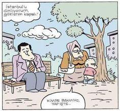İstanbulu Dinliyorum Karikatürü Özer Aydoğan | Karikatürname