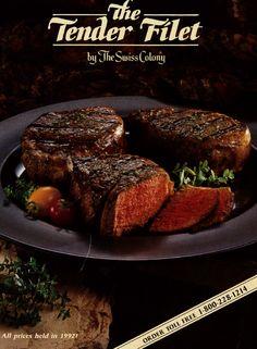 Tender Filet cover for 1992.