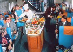 Los vuelos de Scandinavian Airlines entre los años 50 y 80