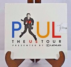 Paul McCartney The US Tour Presented By Lexus Promo-Only Tour 2-CD Set Sealed  #ebayrocteam #thebeatles