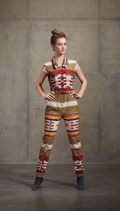 Fall 2012 Lookbook |  belted jumpsuit