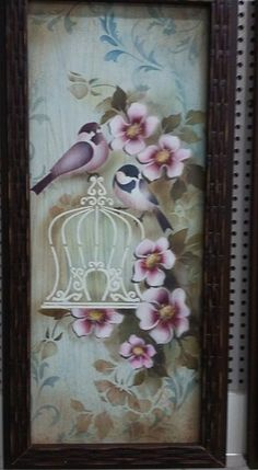 Stencils and decoupage Arte Pallet, Pintura Country, Decoupage Paper, Stencil Painting, Henna Art, Diy Canvas, Easy Paintings, Paint Designs, Bird Art
