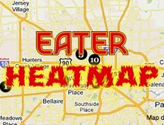 Where to Eat Right Now: October 2013 Heatmap