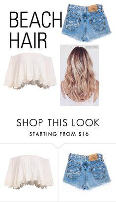"""""""Beauty hair, beach hair"""" by lookatme99 ❤ liked on Polyvore featuring beauty, Beauty, beach, hair and beachhair"""