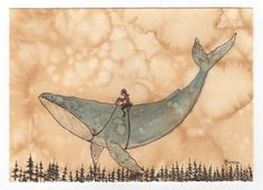 Day 294. By air whale  -  Graham Franciose