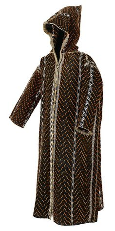 Man's hooded cape (jelaba) Berber peoples, early 20th century.