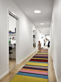 Why just use one? Play with several VELUX #Suntunnels to create your custom lighting design especially if you have a long, narrow and dark hallway. What about emphasising the length of your hall with a long carpet? More ideas for #hallways:  http://www.pinterest.com/explore/narrow-hallway-decorating/