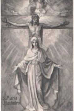 BVM, this is like an earthquake in my heart when I look at this. Oh how beautifully she leads us to Him every time. Mediatrix of All Graces.