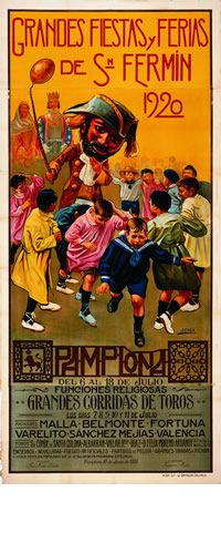 Cartel de Javier Ciga. 1920