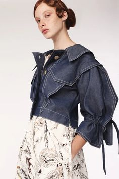 - Folded in Medici- Denim Fashion, Fashion Outfits, Womens Fashion, Outfits Jeans, Fashion Portfolio Layout, Layered Fashion, Denim Trends, Fashion 2020, Maxi Skirts