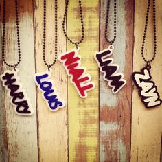 One direction necklaces !!