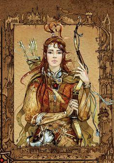 Narnia by Natasha Tabatchikova, via Behance