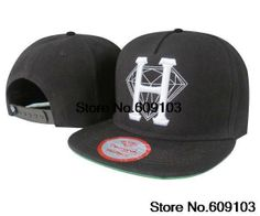 483caf9f28224e Diamond supply company Snapback Hats top quality head wear DI21 black H hip  hop caps  9.99