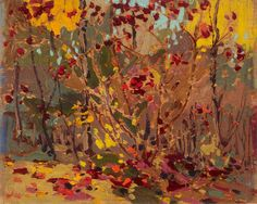 Sketch for Maple Saplings, October by Tom Thomson | Art Posters & Prints