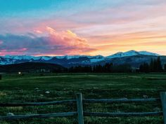 Sunset over Sopris Mt. shot from Lazy O Ranch Old Snowmass CO. [OC] [2048  1536].