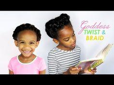 NATURALKIDS | A Goddess Twist & Braid - YouTube