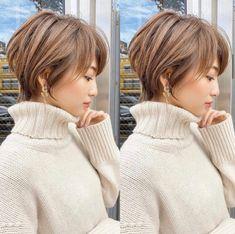 Short White Hair, Edgy Short Hair, Asian Short Hair, Short Hair With Layers, Short Hair Cuts, Haircuts For Thin Fine Hair, Short Bob Hairstyles, Shot Hair Styles, Curly Hair Styles