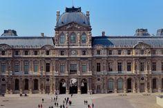 Pavillon de l'Horloge 1645, by Jacques Lemercier / The Louvre, Paris, France