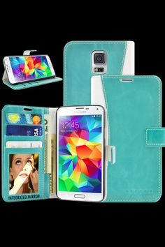 TERRA Samsung Galaxy S5 Wallet Case w/ Mirror