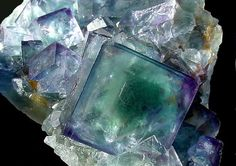 """""""Flourite"""" Virtual Geology Museum                                                                                                        sponsored by Cochise College                    Hall of Minerals"""