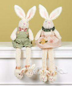 Another great find on Plush Bunny Shelf Sitter Set by Transpac Imports Favorite Holiday, Holiday Fun, About Easter, Welcome Spring, Bunny Plush, Easter Celebration, Easter Holidays, Bunny Rabbit, Whimsical