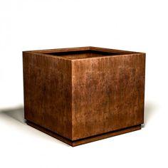 Vaso in corten. Flower Boxes, Terrazzo, Gazebo, Canning, Barone, Iron, Window Boxes, Kiosk, Planter Boxes