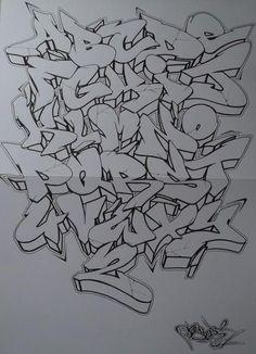 Graffiti, alphabets, fonts, letters - Art World Graffiti Art, Graffiti Words, Graffiti Writing, Graffiti Designs, Graffiti Styles, Graffiti Tagging, Graffiti Lettering Alphabet, Chicano Lettering, Tattoo Lettering Fonts
