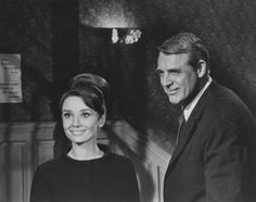 Audrey Hepburn and Cary Grant