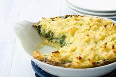 Ovenschotel van spinazie met kaas - Recept - Allerhande