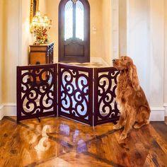 Primetime Petz Classic Designer 35 in. Pet Gate - Pet Gates at Hayneedle