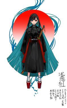 Anime Oc, Anime Demon, Manga Anime, Fantasy Characters, Female Characters, Anime Characters, Character Outfits, Character Art, Anime Villians