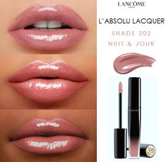 Our L'Absolu Lacquer has buildable longwear, high shine lip-color that feels ultra lightweight and hydrating on your lips. - Makeuptipsideas - Our L'Absolu Lacquer has buildable longwear, high shine lip-color that feels ultra lightweight an - Lip Gloss Colors, Lipstick Colors, Lip Colors, Lipstick Shades, Green Lipstick, Makeup Dupes, Skin Makeup, Elf Dupes, Makeup Brushes